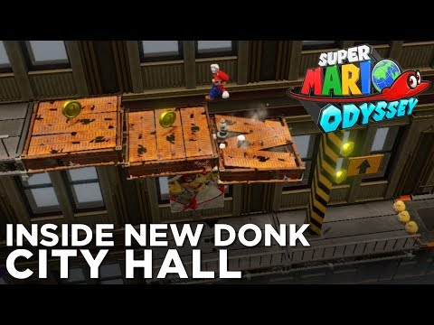 SUPER MARIO ODYSSEY: Collecting a Hidden Moon in New Donk City Hall
