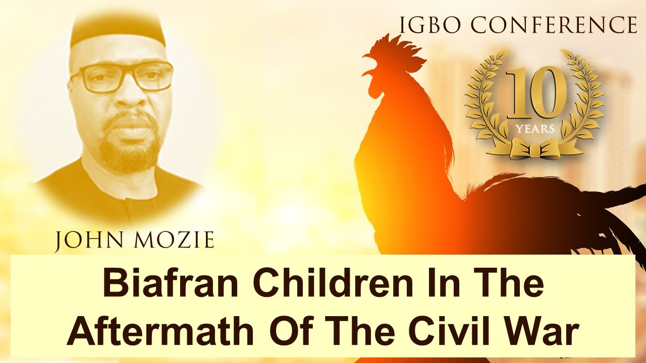 Biafran children in the aftermath of the civil war - John Mozie - Igbo Conference 2021