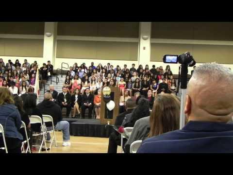 Rancho Cucamonga Middle School Gievirlyn Guerrero speech