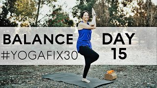 Shoulders, Upper back and Balance Day 15 With Fightmaster Yoga