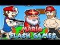 The WEIRDEST Mario Flash Games