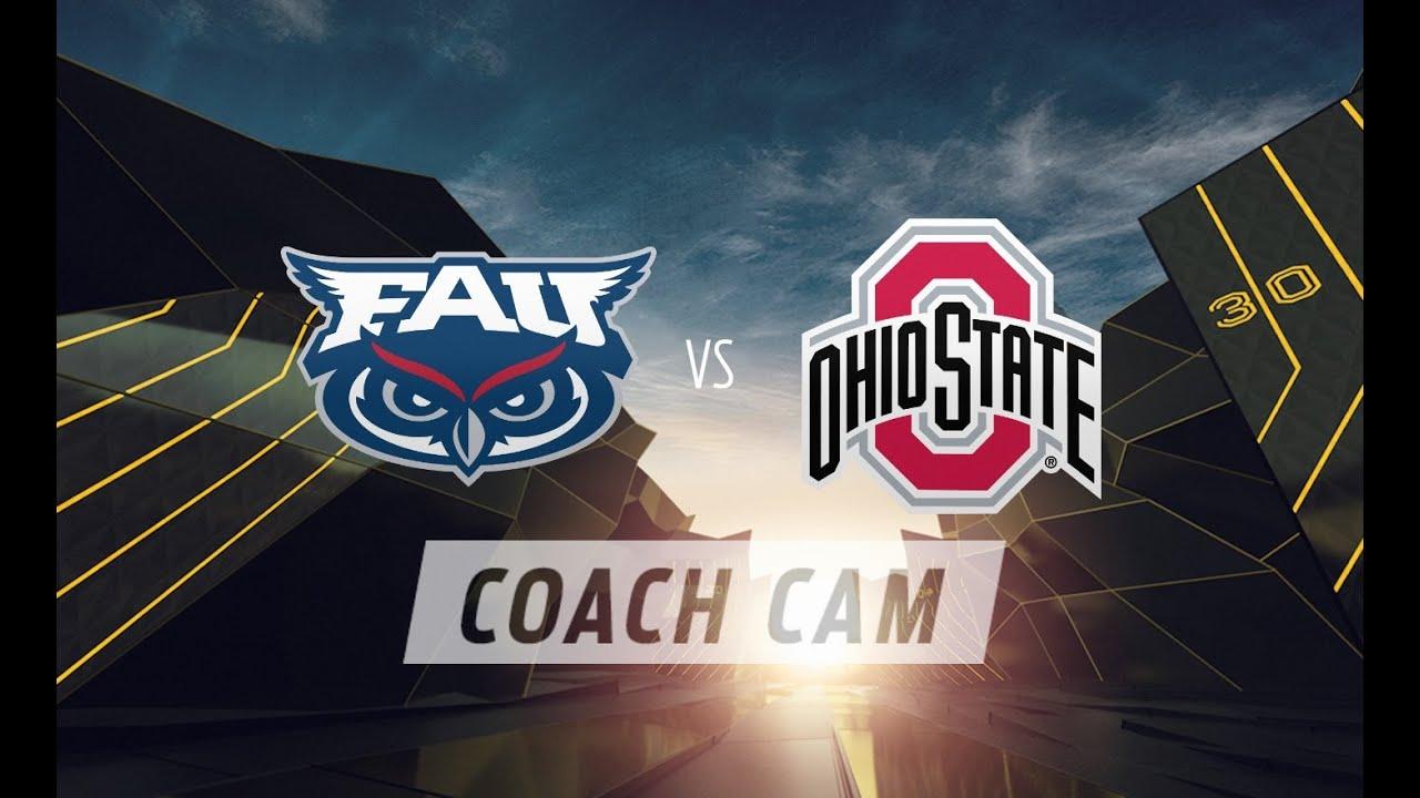 FAU at Ohio State Coach Cam: Lane Kiffin 1st Half | FOX SPORTS