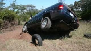 (Quadriplegic)JEEP GRAND CHEROKEE OFFROAD EXTREME CHALLENGE & KALAHARI, LESHOTO,MOZAMBIK ADVENTURE