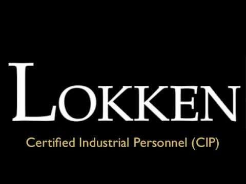 Lokken Certified Industrial Personnel (CIP)