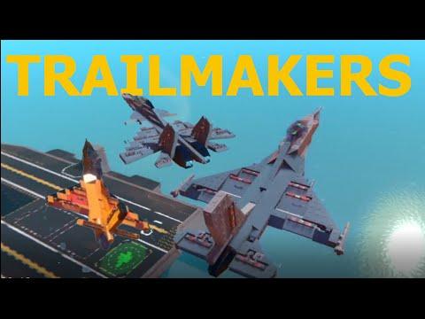 F-16 and Su-30 in Trailmakers |