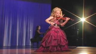 "Incredible 7-Year Old Child Violinist Brianna Kahane Performs ""Csardas"" on a 1/4-Size Violin."