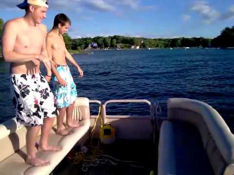 boat jump fail