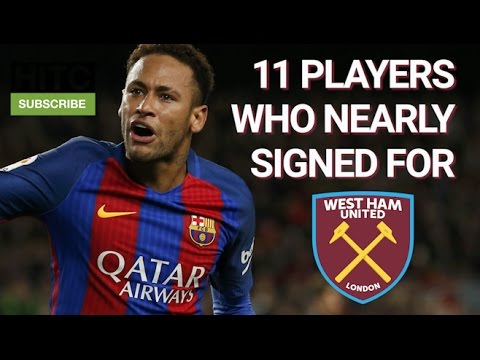 11 Players Who Nearly Signed For West Ham