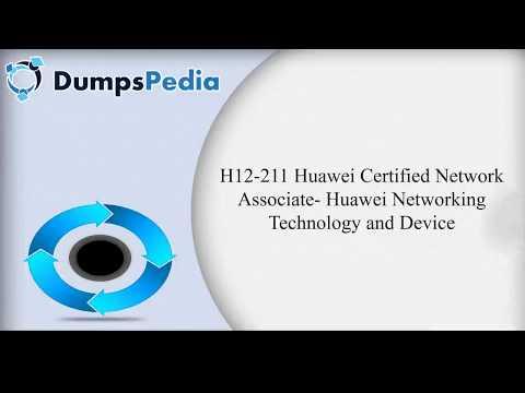 H12-211 - Huawei Real Exam Questions - 100% Free | Dumpspedia.com