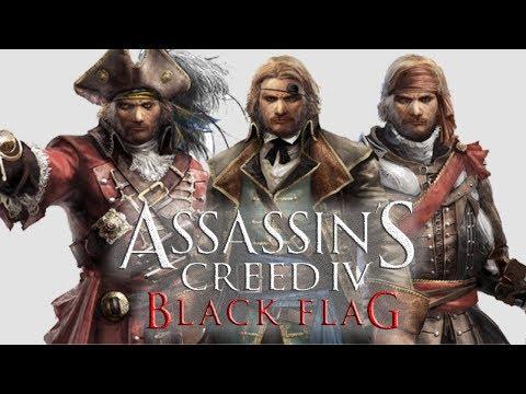 Assassins Creed IV: Black Flag - DLC Os Piratas Ilustres Completa! [ Illustrious Pirates ]