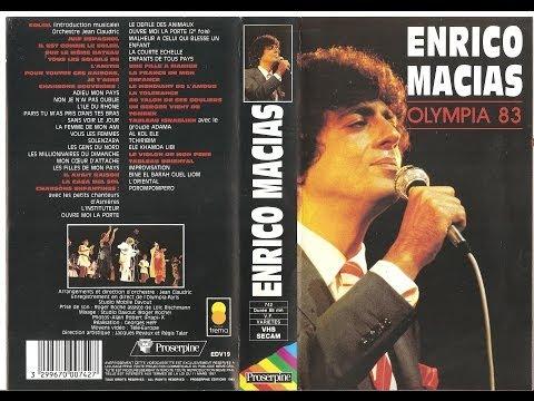 Enrico Macias  Olympia 1983