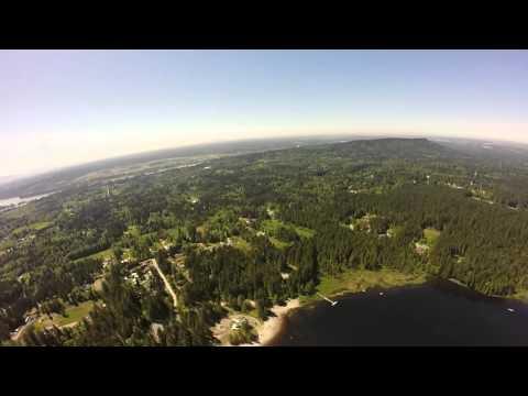 Whonnock Lake Aerial View