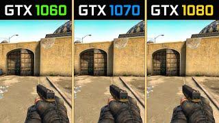 CS:GO GTX 1060 vs. GTX 1070 vs. GTX 1080