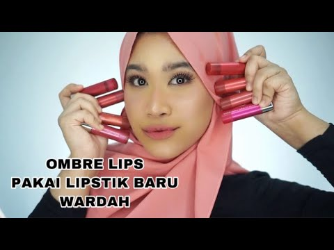ombre-lips-pakai-wardah-colorfit-ultralight-matte-lipstick