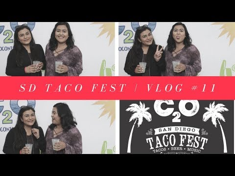 We went to a Taco Fest! | Vlog #11