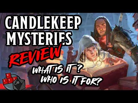 Candlekeep Mysteries Review 📕 (D&D 5E Adventure Book)