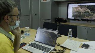 Gobierno de La Rioja y la UME continúan apagando el incendio de Yerga
