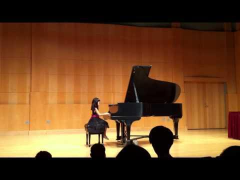 Lily performs in Diamond Bar Yamaha Annual Recital, 2014