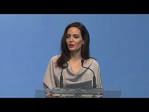 Angelina Jolie's keynote speech at UN Peacekeeping conference Vancouver
