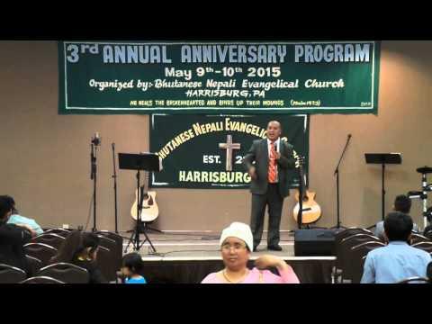 Pastor John Monger - Bhutanese Nepali Evangelical Church of Harrisburg