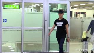 150726 동방신기 TVXQ 최강창민 Changmin 김포공항입국