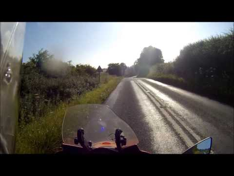 Michelin Pilot Road 3 Tyre test on a Moto Guzzi Norge 1200