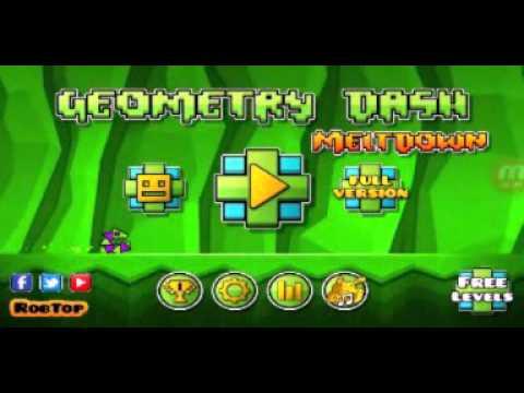 CAGANDOLE A LA PRIMERAA!!! | GEOMETRY DASH MELTDOWN | GAMES SANTIAGO