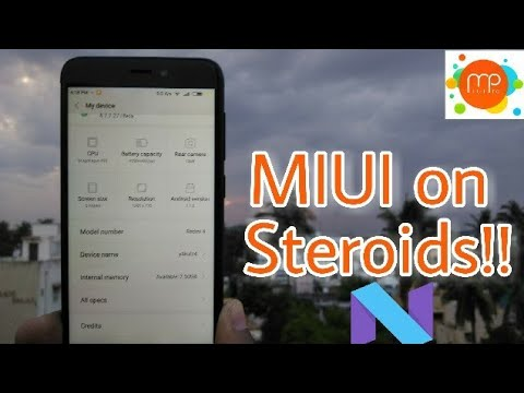 Xiaomi Redmi 4/4X - MIUI Pro (7 1 2) Feature packed !!!