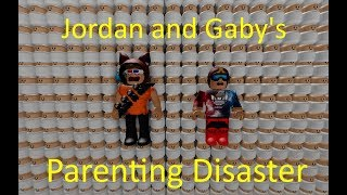 Jordan and Gaby's Parenting Disaster (Roblox is Insane !)