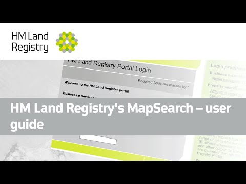 HM Land Registry's MapSearch - user guide