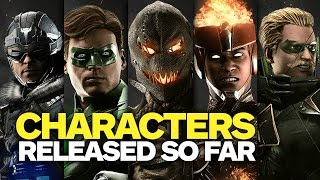 Every Injustice 2 Character Revealed So Far - March 2017