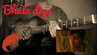 bhula diya by darshan raval - tutorial for begginers - guitar lesson  chords