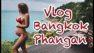 VLOG Bangkok - Phangan. Бангкок - Панган. Аренда Виллы и Машины. Еда и цены в Таиланде.