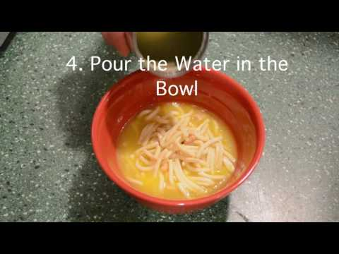 Summer 16  How To Cook Campbell's Chicken Noodle Soup