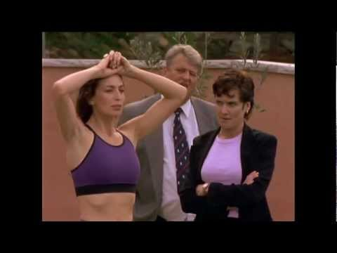 Claudia Black in Water Rats 1997