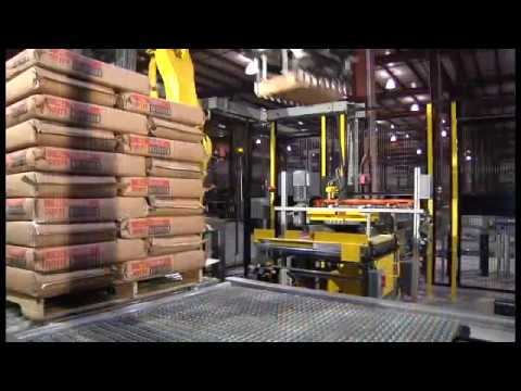 Design, Build, and Install Fanuc Robotic Palletizing Systems