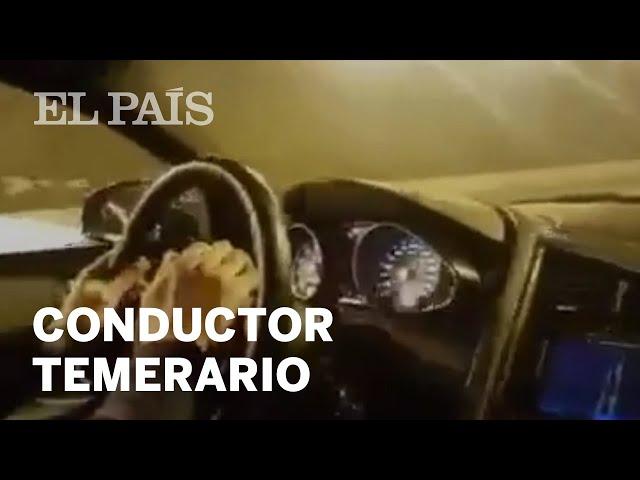 Un conductor circula a 300km/h por una autovía de Madrid | España