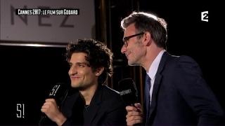 L'interview de Louis Garrel et Michel Hazanavicius - Stupéfiant !
