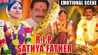 R.I.P Sathya's Father | Deivamagal Emotional Scene | Best of Deivamagal