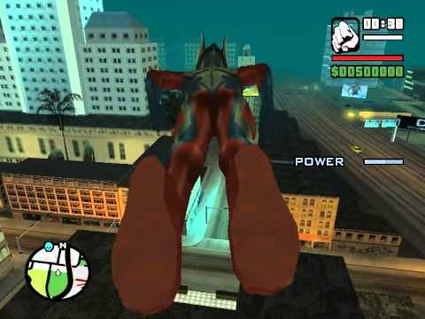 Gta Sa Ultraman And Ultraman King And Ultraman Gaia Vs King Kong