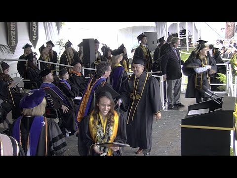 2015 CSULB Commencement -Heath & Human Services Ceremony 1