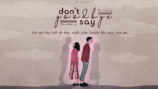 « Vietsub » Don't say goodbye ♪ Rocoberry x Do Young