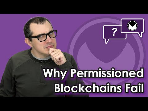 Bitcoin Q&A: Why permissioned blockchains fail