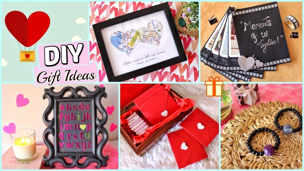 Diy Last Minute Valentine S Day Gift Ideas For Him Her 5 Best Diy Gift Ideas Under 200 Youtube