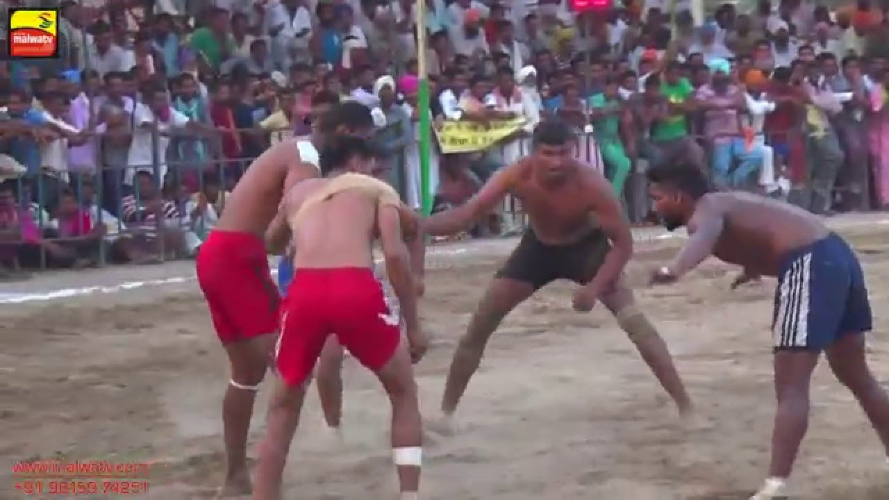 SADHUWALA (Firozepur) | KABADDI  QUARTER FINALS - 2015 | HD | Part 3rd.
