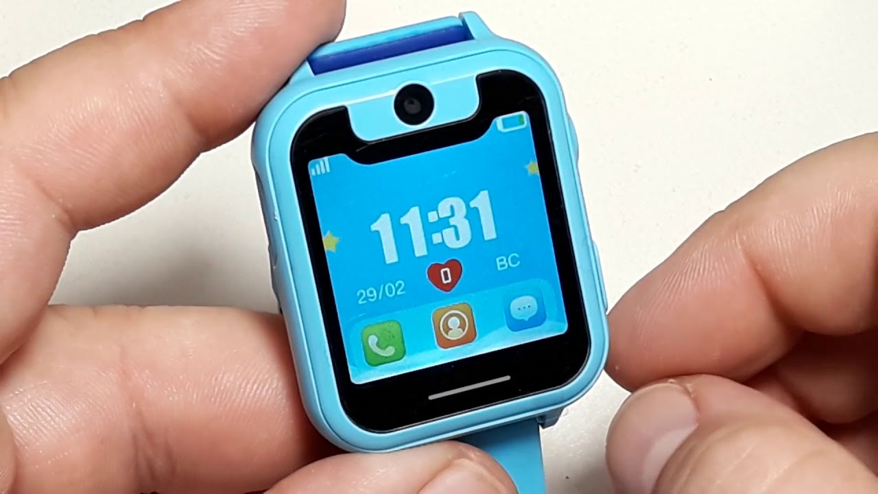 Как настроить и подключить детские умные часы S6, S9, S11 Smartwatch with Flashlight & camera
