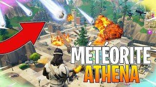 LA DATE OFFICIELLE DE LA MÉTÉORITE ATHENA SUR TILTED TOWERS! (Fortnite Battle Royale)