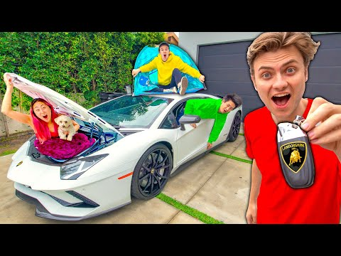 LAST TO LEAVE $500,000 LAMBORGHINI KEEPS IT!!