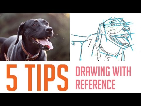 5 Tips on How I Draw From Reference (For Beginners)