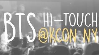 160625 | BTS Hi-Touch @ KCON NY 2016